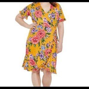 Ruffled dress NWOT